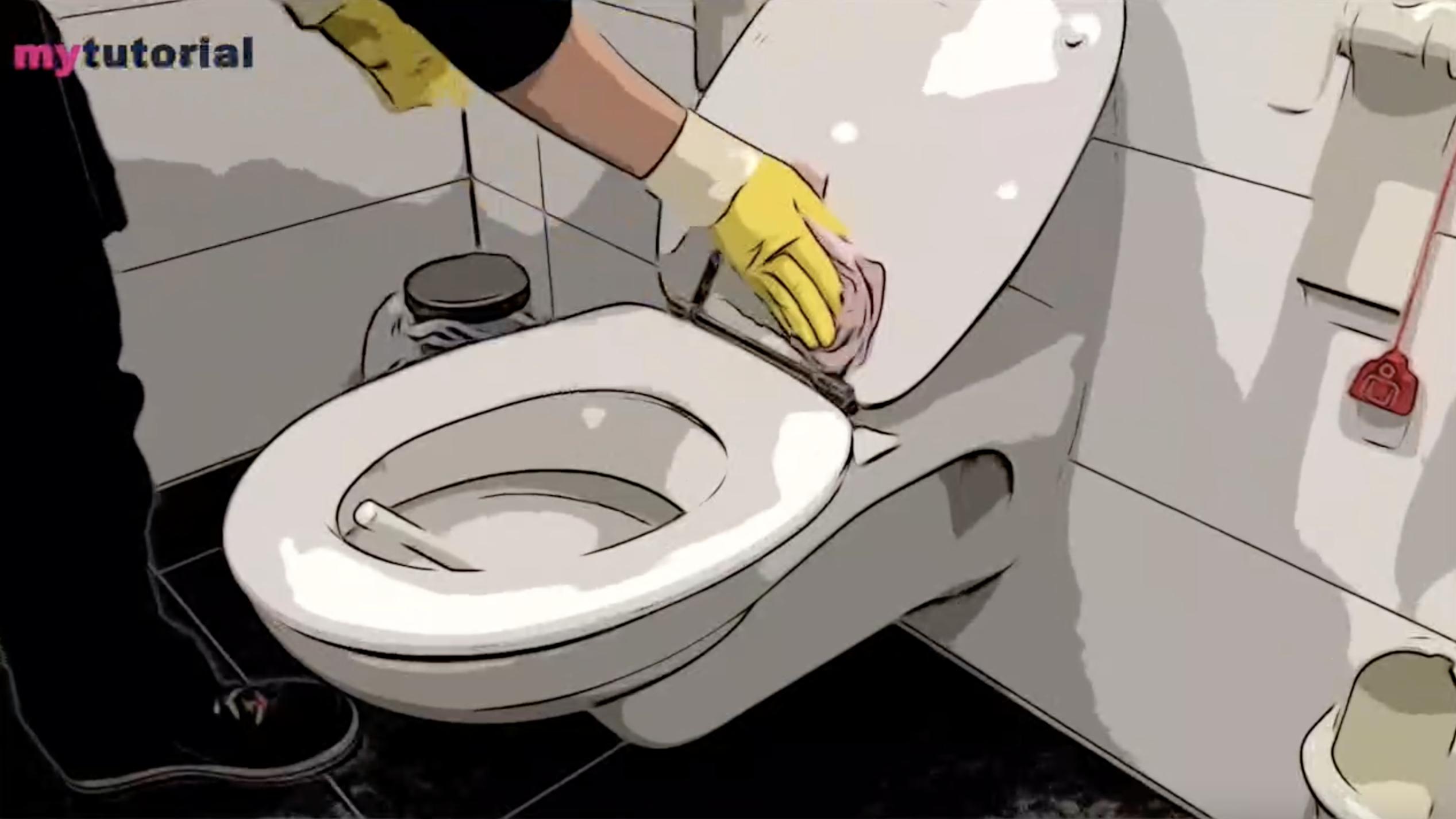 WC Reinigung